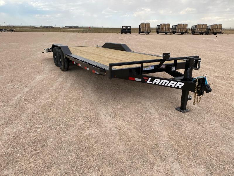 2021 Lamar Trailers 102x22 14k Equipment Trailer