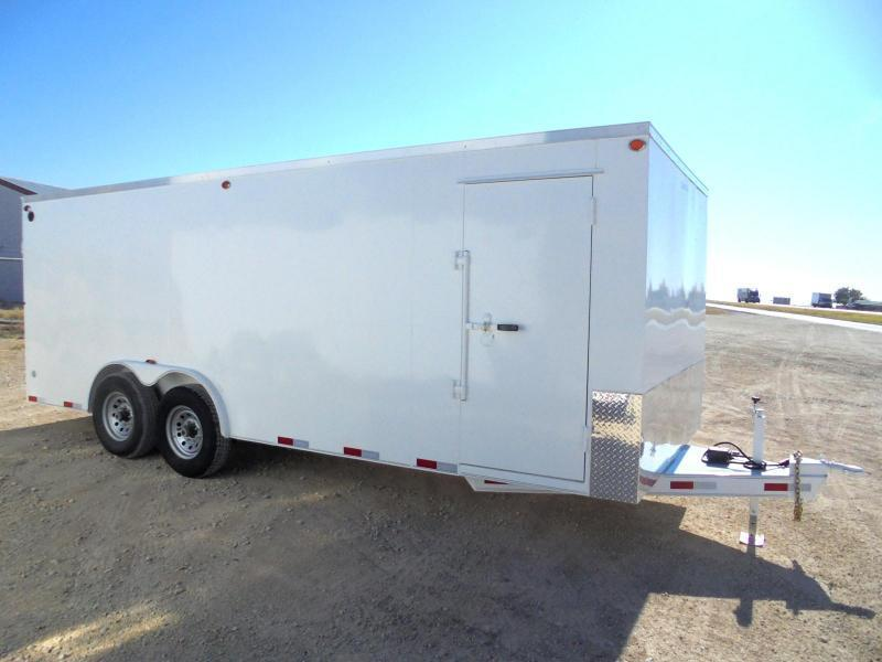 2020 Delco Trailers BE 8X20 14K HD STEEL Enclosed Cargo Trailer