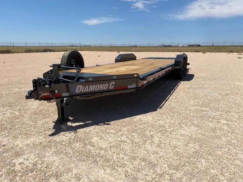 2020 Diamond C Trailers 24X82 LOW PROFILE Equipment Trailer