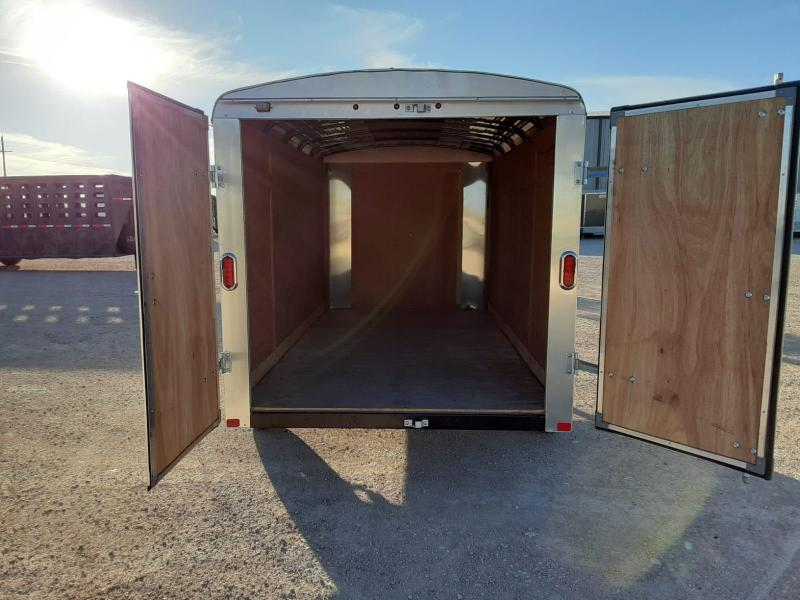 2020 carr 6X12 Enclosed Cargo Trailer