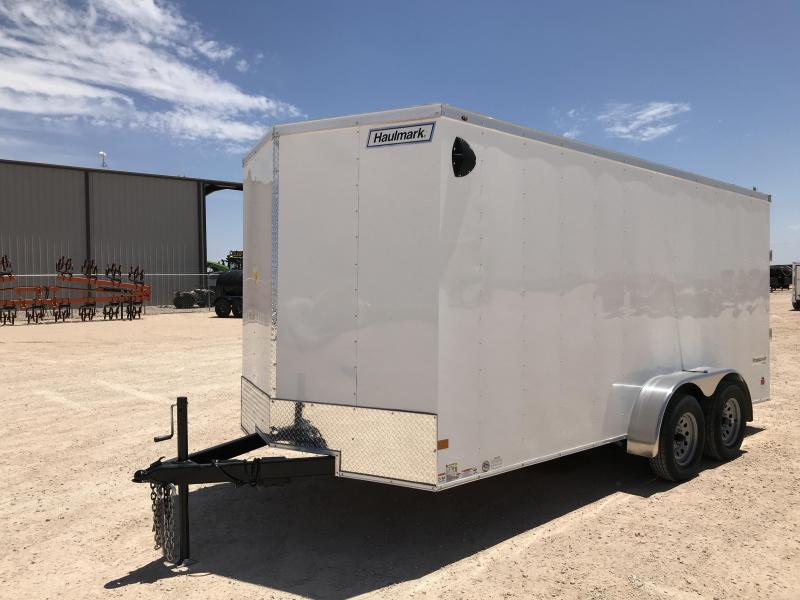 2021 Haulmark 7' x 16' Enclosed Cargo Trailer