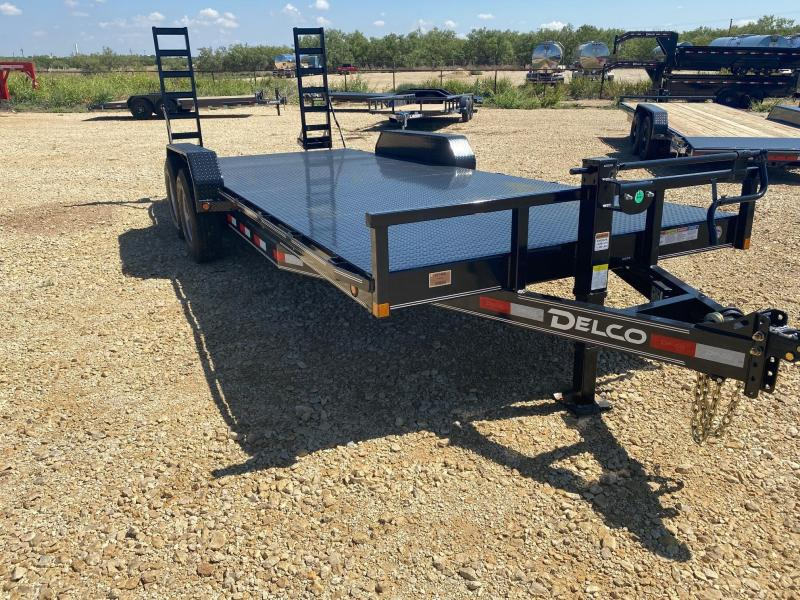 "2021 Delco 83""x20' Equipment Trailer"