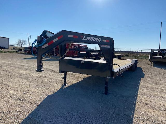 "2021 Lamar Trailers 102"" x 32' Equipment Trailer"
