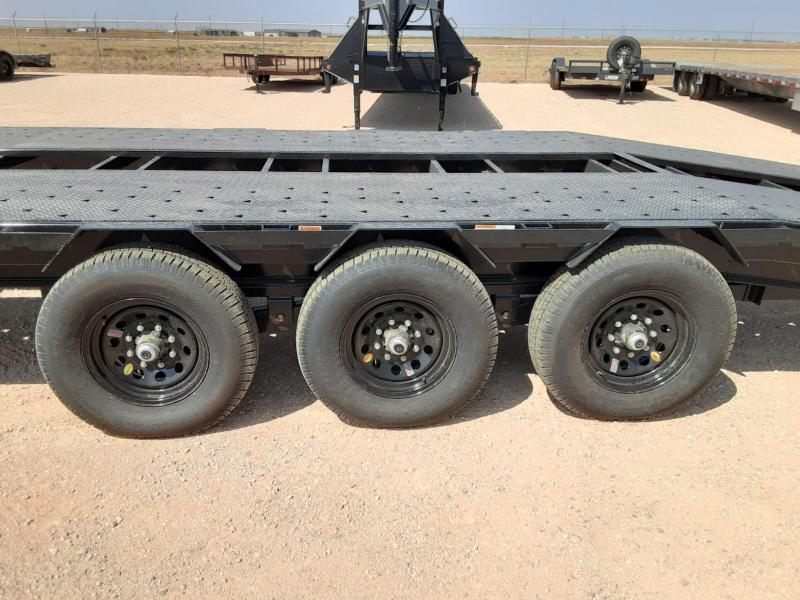 2021 RawMaxx 42x102 Gooseneck Equipment Trailer