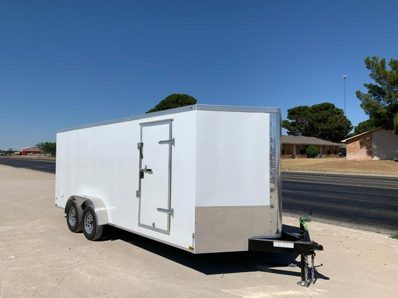 2020 Lark 7' x 18' Enclosed Trailer