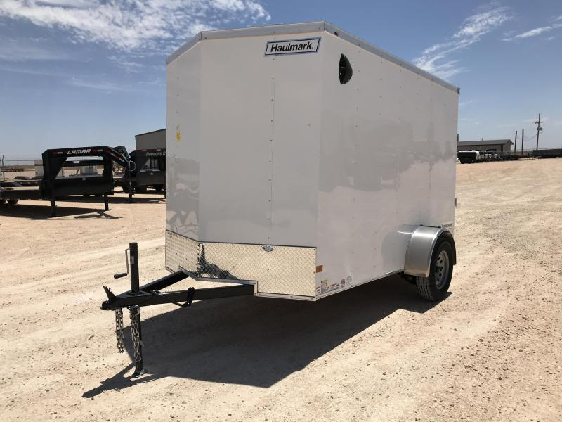 2021 Haulmark 6' x 10' Enclosed Cargo Trailer