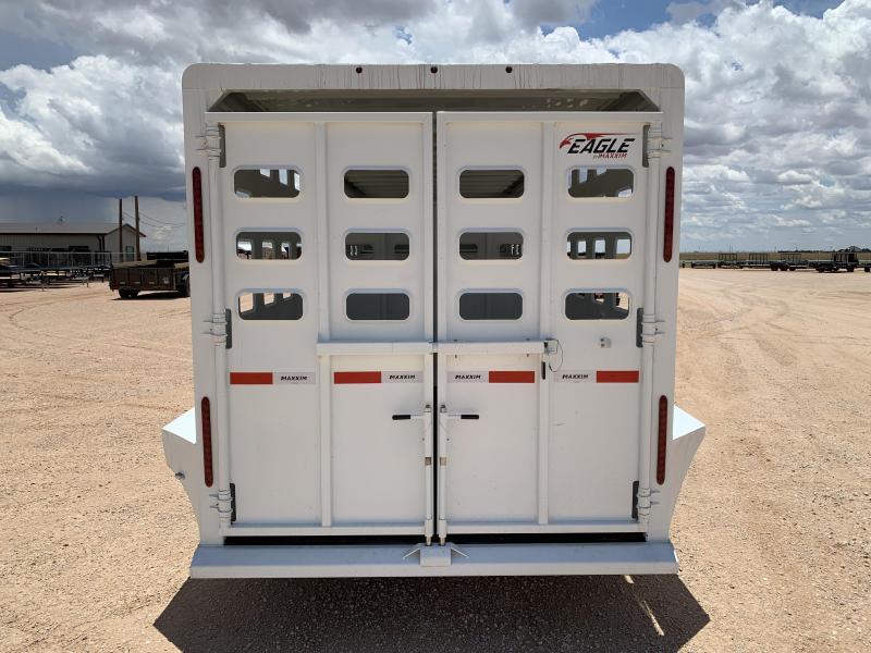 "2021 Maxxim Industries 20' x 6' 8"" Livestock Trailer"