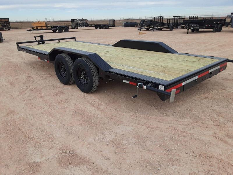 2021 Lamar Trailers 102x20 Equipment Trailer