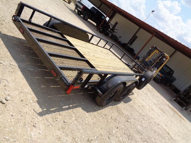 2021 ICON 83X14 7K W/ GATE Utility Trailer