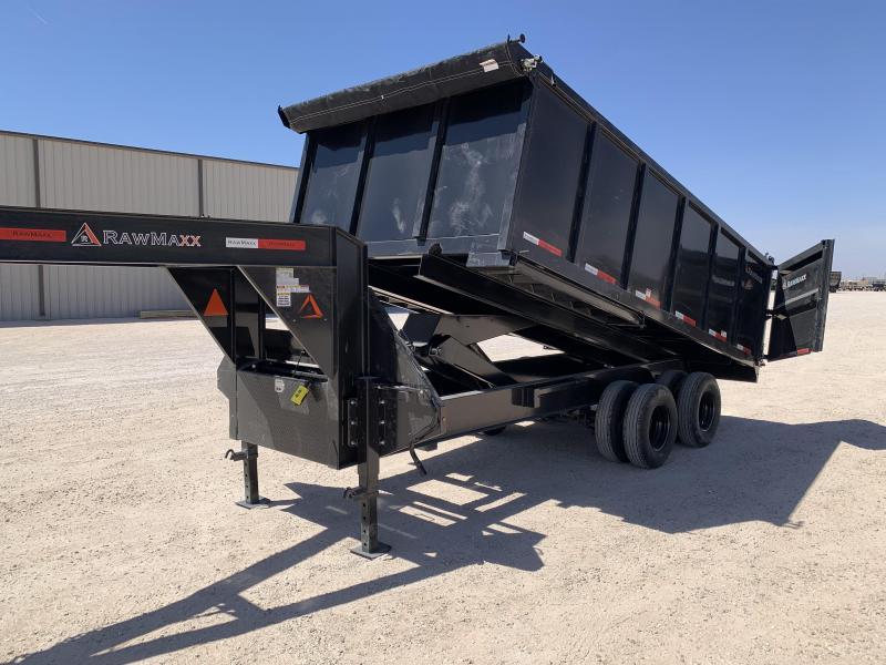 2021 RawMaxx 16x102 Dump Trailer