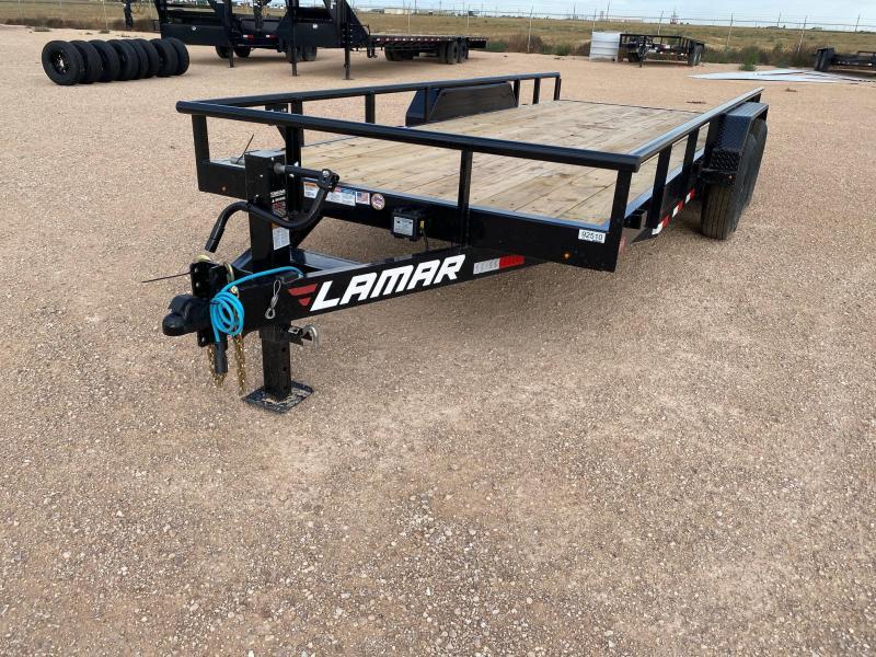 2020 Lamar 83x18 XD 14K Utility Trailer