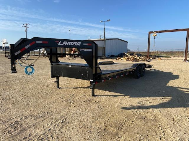 "2021 Lamar Trailers 102"" x 24' Equipment Trailer"