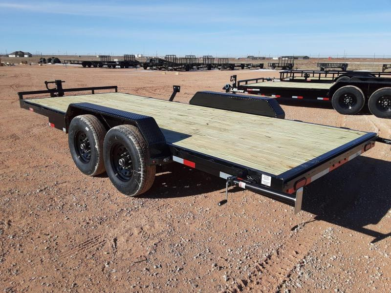 2021 Lamar Trailers 83x22 Equipment Trailer