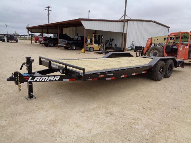 2021 Lamar Trailers H6 102X22 16K HD W/ RHINO RAMPS Equipment Trailer