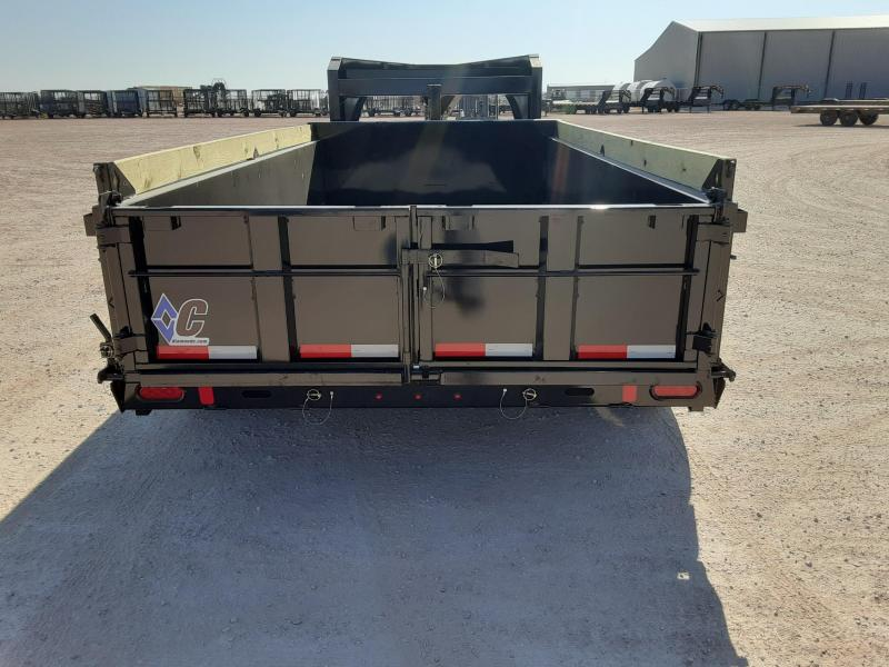 2021 Diamond C Trailers 14x82 Low Profile Telescopic Dump Trailer