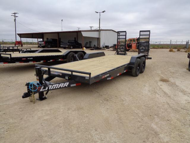 2021 Lamar Trailers H6 83X20 14K HD W/ STAND UP RAMPS Equipment Trailer