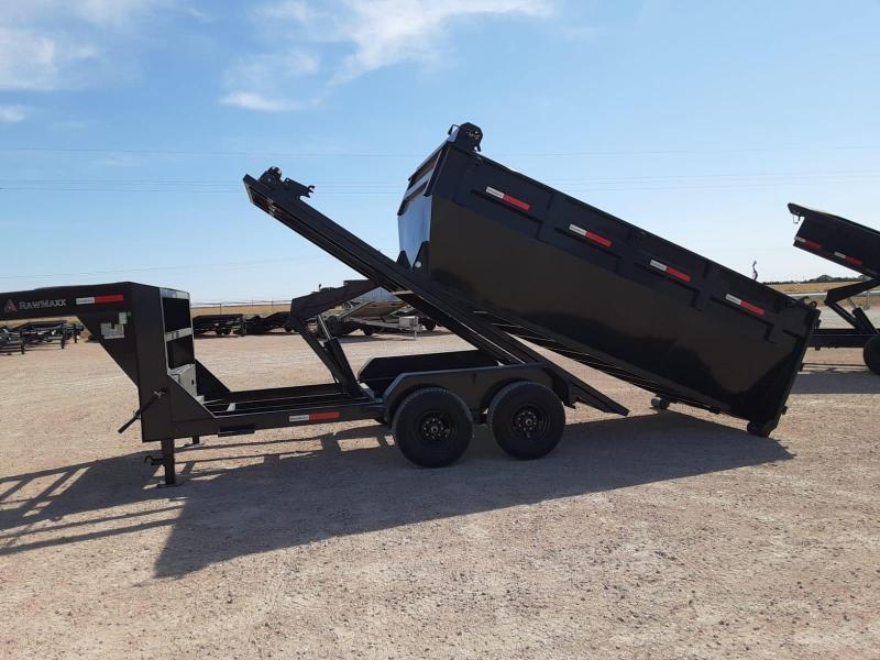2021 RawMaxx 14x83 Roll Off Dump Trailer