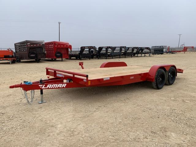 "2021 Lamar Trailers 83"" x 18' Car / Racing Trailer"