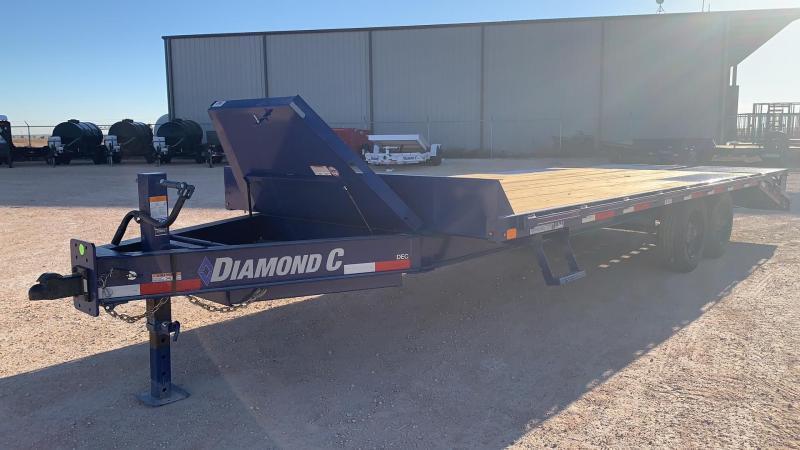 "2022 Diamond C 102"" x 22' Flatbed Trailer"