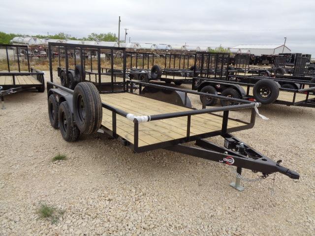 2021 ICON 83X14 7K W/ 4FT GATE Utility Trailer