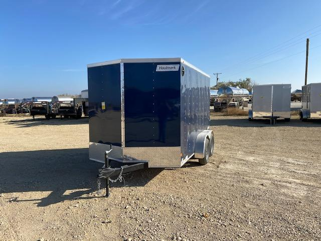 2021 Haulmark 7' x 12' Enclosed Cargo Trailer