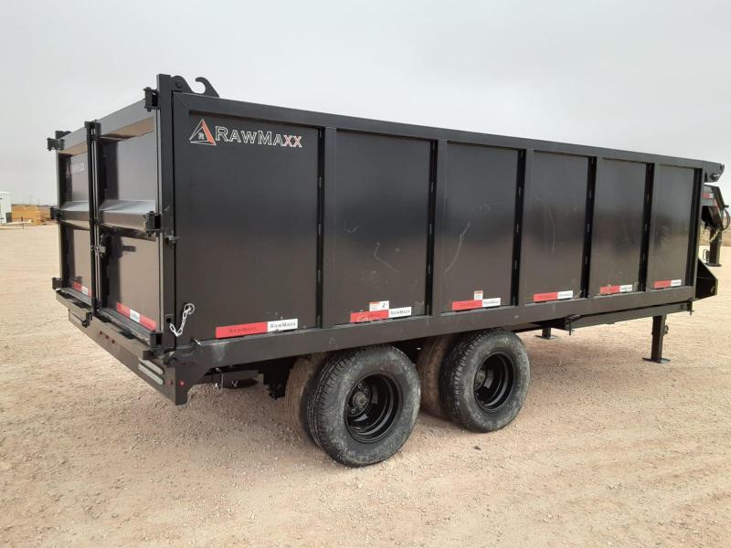 2020 RawMaxx 16x102 Dump Trailer