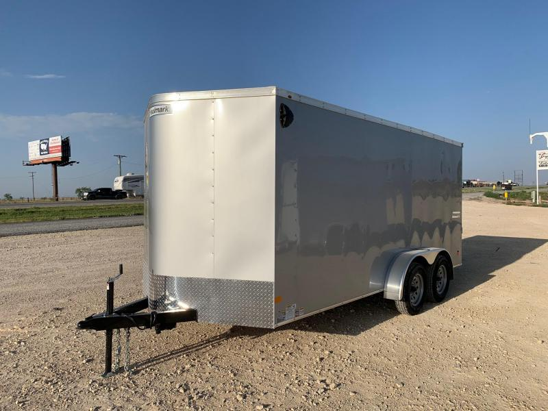 2020 Haulmark 7' x 16' Enclosed Trailer