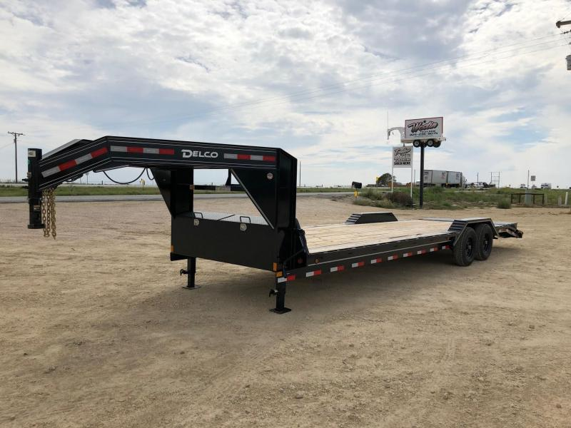 2021 Delco Trailers 102x28 Equipment Trailer