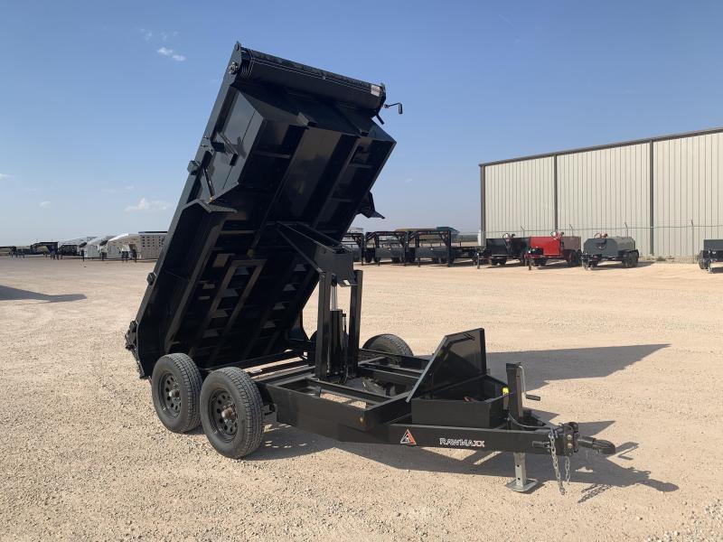 """2022 RawMaxx 60"""" x 10' Dump Trailer"""