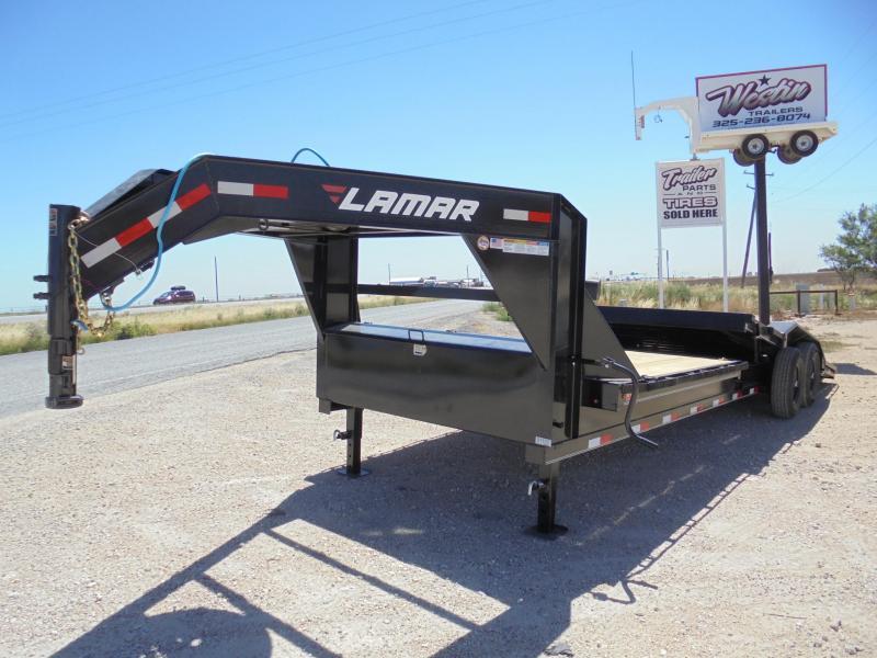 2020 Lamar Trailers TD 102X24 14K TILT DECK Equipment Trailer