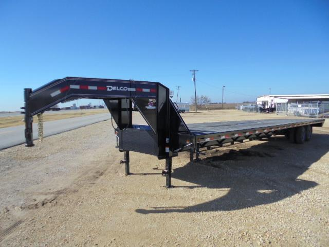 2018 Delco Trailers FD 102X40 24K STRAIGHT DECK Flatbed Trailer