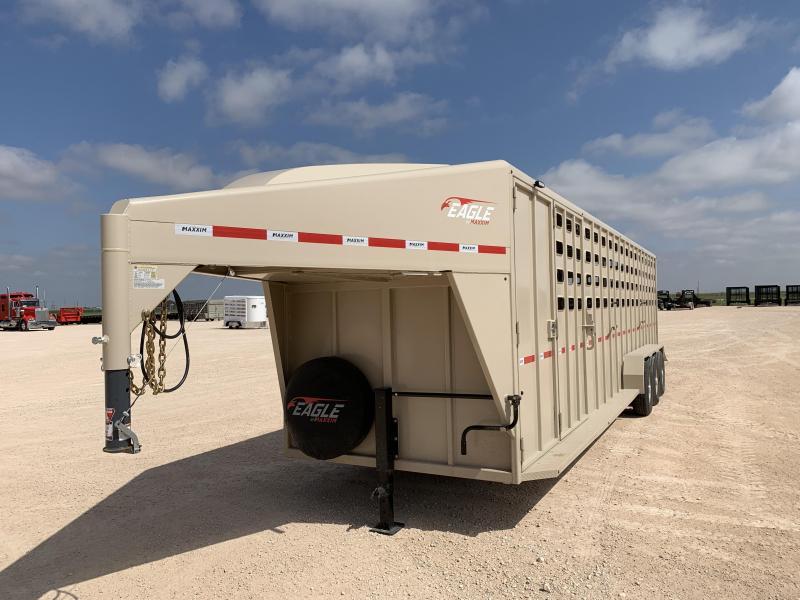 "2021 Maxxim Industries 32' x 6' 8"" Livestock Trailer"