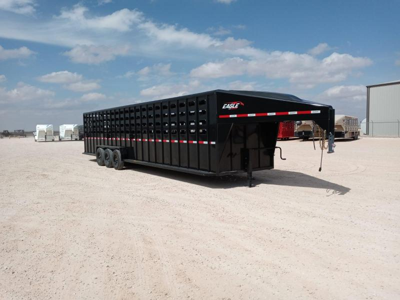 "2021 Maxxim Industries 36' X 6' 8"" Livestock Trailer"