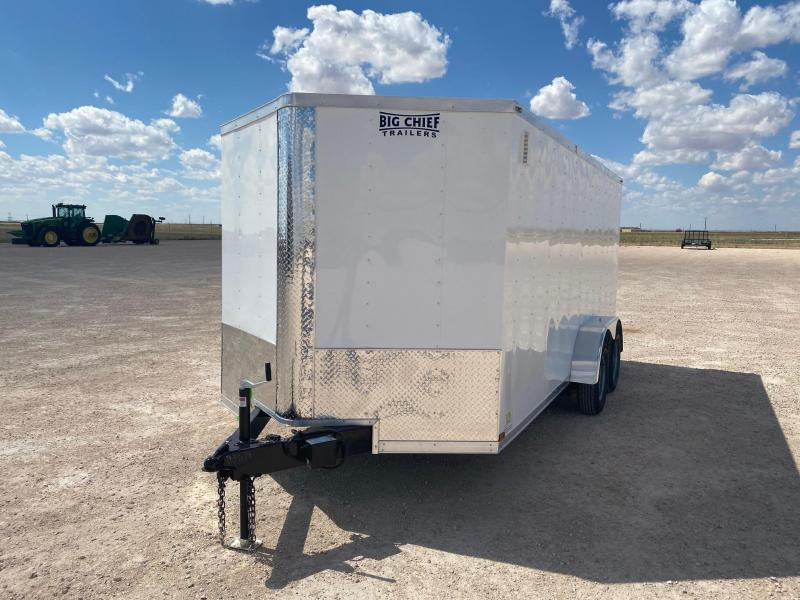 2020 Lark 7' x 16' Enclosed Cargo Trailer