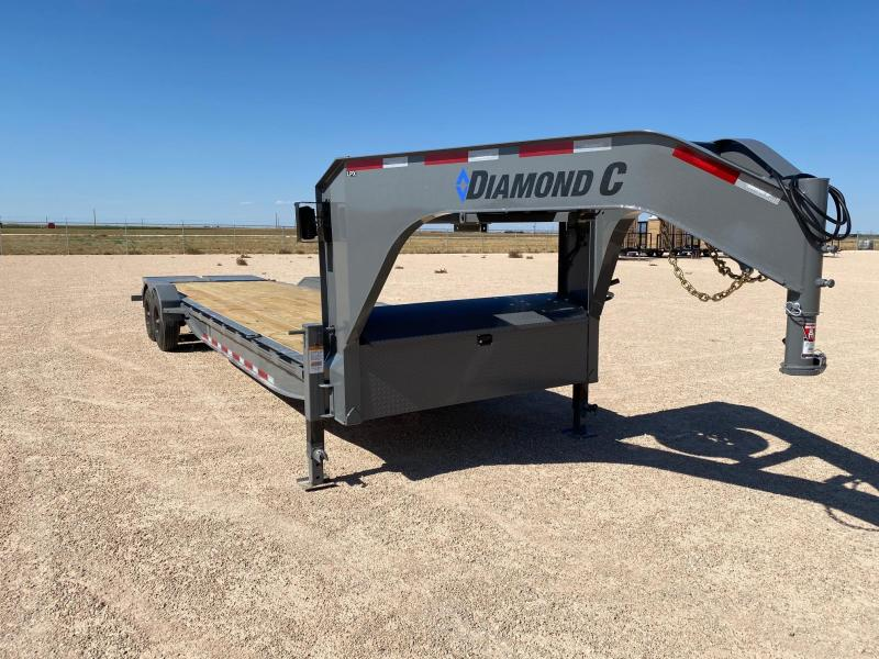 2020 Diamond C Trailers 30X82 LOW PROFILE Equipment Trailer