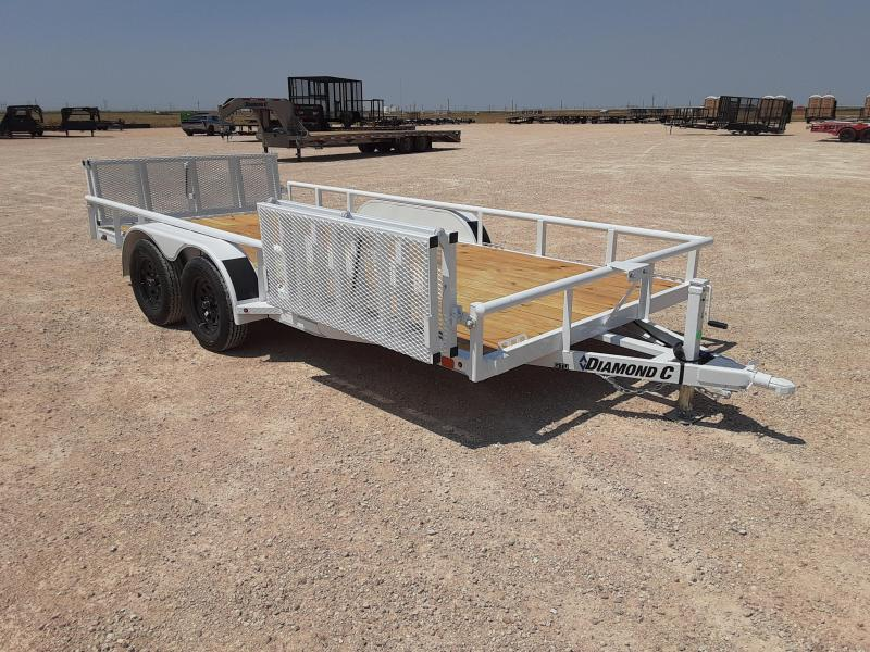 2020 Diamond C Trailers 16X83 GENERAL TANDEM Utility Trailer