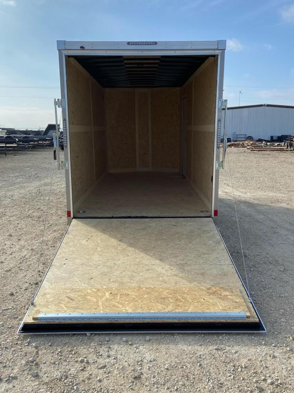 2021 Haulmark 7' X 16' Transport V-Nose Enclosed Cargo Trailer