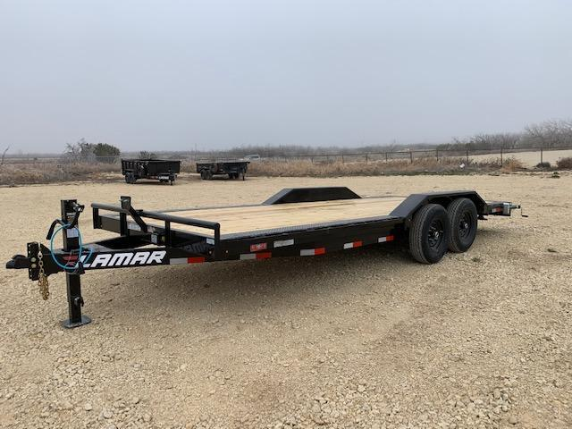 "2021 Lamar Trailers 102"" x 20' Equipment Trailer"