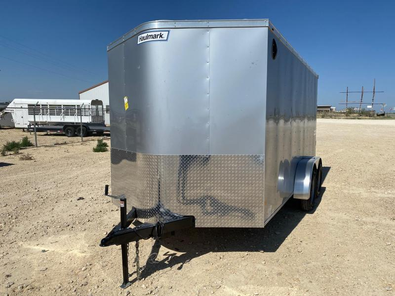 2020 Haulmark 7' x 14' Enclosed Trailer