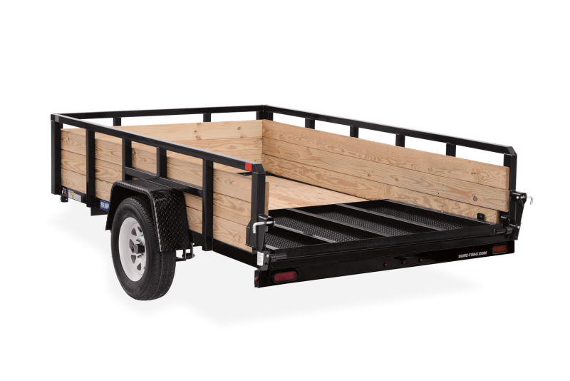 2020 SURE-TRAC 6x10 3k 3-Board High Side Utility Trailer - ST7210HST-B-030