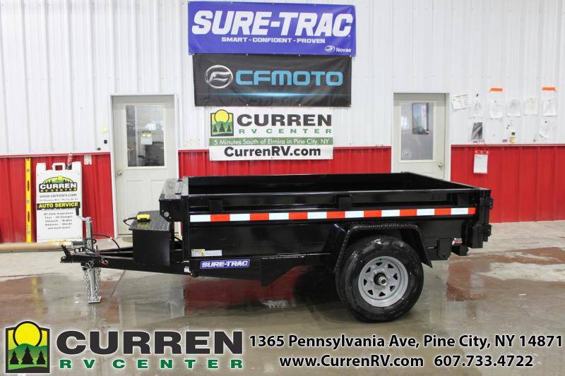 2020 SURE-TRAC 5x8 5k Homeowner Dump Trailer - ST6208D-B-050