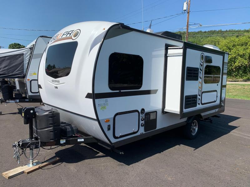2020 Forest River ROCKWOOD Geo Pro 19QB Travel Trailer