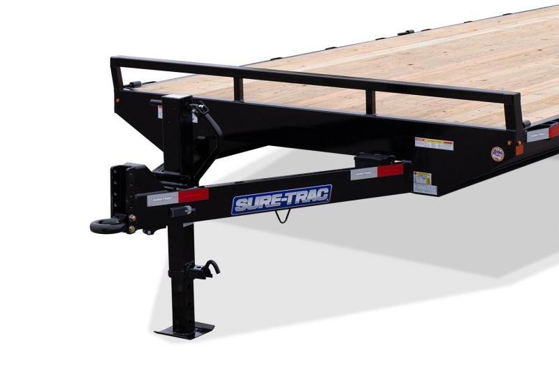 2021 SURE-TRAC 8.5X18+4 15K SD BEAVER DECKOVER Equipment Trailer -ST102184SDDO-B-150