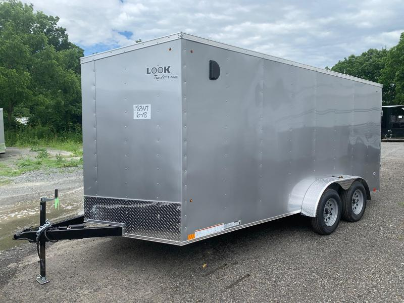2021 Look Trailers LOOK ST DLX 7x16 7k - Cargo / Enclosed Trailer - STLC7X16TE2DLX