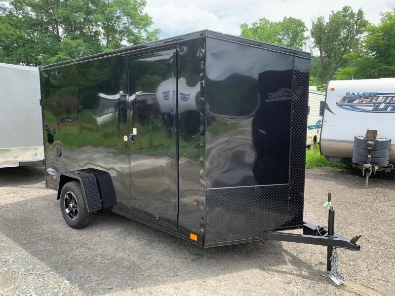 2020 Look Element SE 6x12 3.5k Blackout Edition Cargo / Enclosed Trailer - EWLC6X12SE2SE