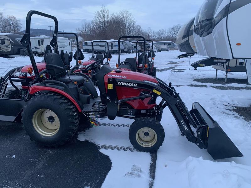 2021 YANMAR SA424 Tractor - Front Loader with 53 inch Bucket - 10 Year Powertrain Warranty