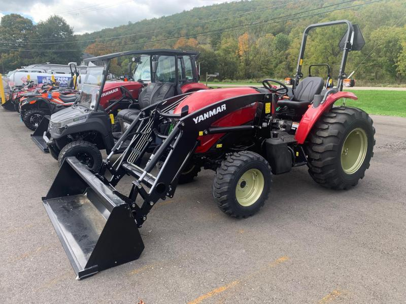 2021 YANMAR YM347 WITH LOADER Compact Tractor