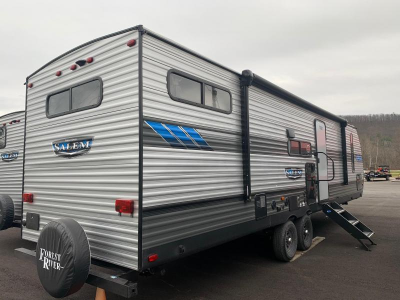 2021 SALEM 29VBUD Travel Trailer - Bunk House with Versa Bed System - Versa Lounge Adaptable Seating Configurations