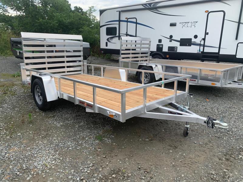 2021 SPORT HAVEN 6x12 Aluminum Utility Trailer - AUT612