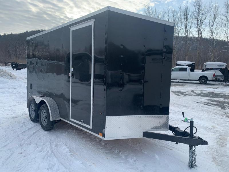 2021 LOOK ST DLX 7x14 7k Cargo / Enclosed Trailer - Ramp - 7 ft Interior Height - Ramp Extension - Sidewall Vents - D-Ring Tie Downs -  STLC7X14TE2DLX